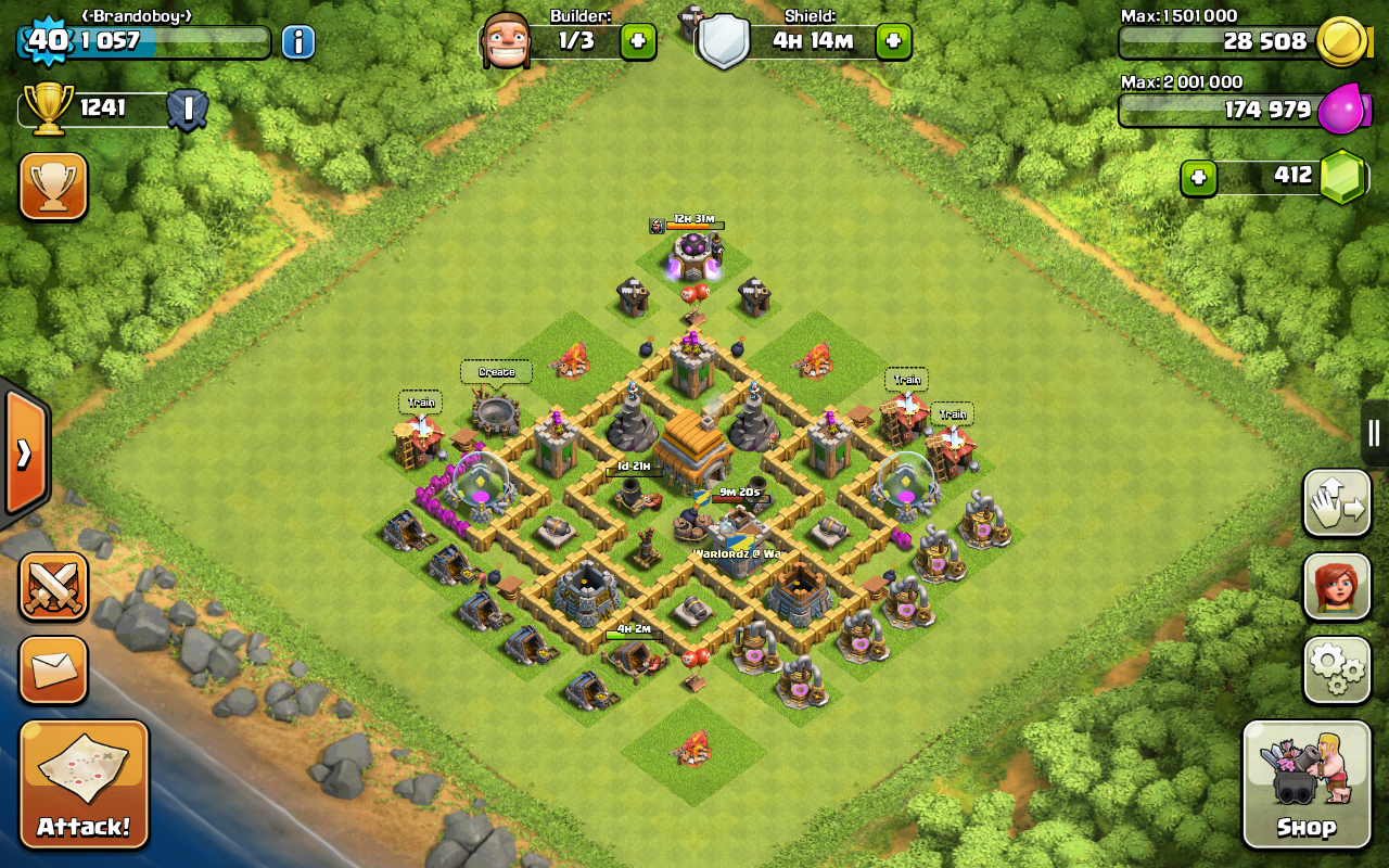 Best Layouts For Level 6, Town Halls in Clash Of Clans